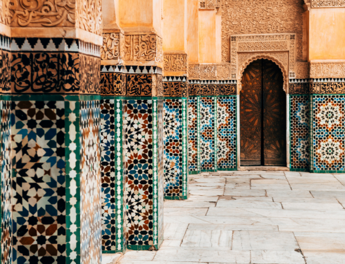 Inspired by Travel | How to Bring the Colors of Marrakesh Home